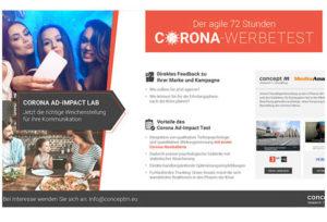 Corona Ad Impact Lab