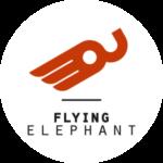 Logo flying elephant GmbH